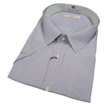 Стильна чоловіча сорочка з коротким рукавом Negredo 560 BKC 01