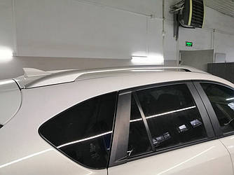 Рейлинги на крышу Mazda CX-5 2012-2016 качество оригинала (алюминий 2шт.)