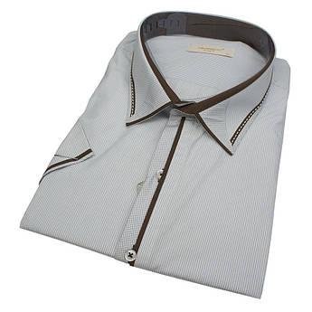 Чоловіча сорочка з коротким рукавом Negredo 630 BKS 01 великих розмірів