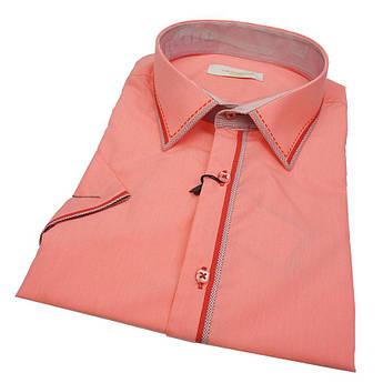 Турецька чоловіча сорочка приталеного крою Negredo 630 BKS 03 в великих розмірах