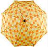 Механический прочный зонт-трость с большим куполом EuroSCHIRM teleScope 1016-CWS3/SU18261 оранжевый