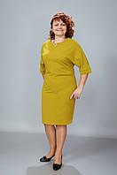 Платье  «Жанна» желтое, по турецкой модели