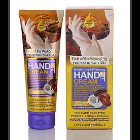 Крем для рук Wokali Cocoa Butter & Coconut Oil 130 мл