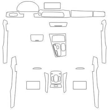 Комплектвыкроек для салона BMW 7 2011