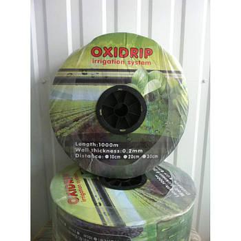 Капельная лента Oxi Drip 8 mil/20 см, водовылив 1,38-1.8 л/час, в бухте 1000 м