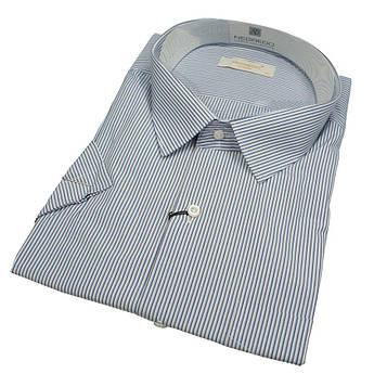 Бавовняна чоловіча сорочка Negredo 560 BKC 02 з коротким рукавом