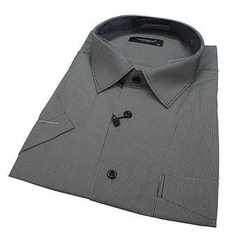 Чоловіча літня сорочка Negredo 560 BKC 03 класичного крою великих розмірів