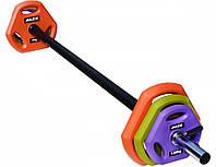 Штанга для боди-памп Alex TPU Pump Weight Set 20 кг (PS-TPU-20K-UT)
