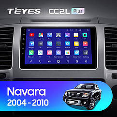 Штатная магнитола TEYES   Nissan Navara D40 2004 - 2010 Android