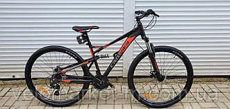 "Велосипед 29"" Crosser Stanley 19"" чорно-червоний"