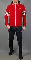 Чоловічий спортивний костюм Nike 5711 Бордовий