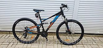 """Велосипед 29"""" Crosser Stanley 19"""" чорно-синій"""