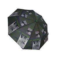 """Жіночий напівавтомат зонт """"Elegant"""" на 9 спиць від фірми """"Max"""", зелений, 723-1, фото 1"""