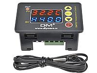 Цифровой термостат DMT01 220В 2.2кВт 10A с LED индикацией. терморегулятор термореле