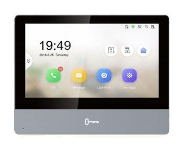 """Відеодомофон Hikvision DS-KH8350-TE1 7 """" IP"""