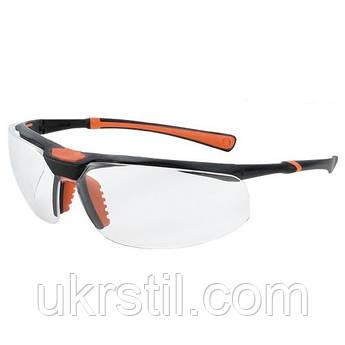 Очки защитные с двойным покрытием и универсальной гибкой оправой 5х3 Univet