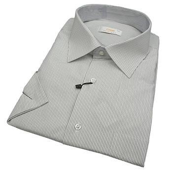 Чоловіча класична сорочка Desibel 560 BKC 01 у великих розмірах