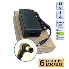 Блок живлення 5,5-2,5 12V 5A клас A нов
