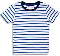 Полосатая детская футболка для малыша 9-12 мес, Minoti, 74-80 см