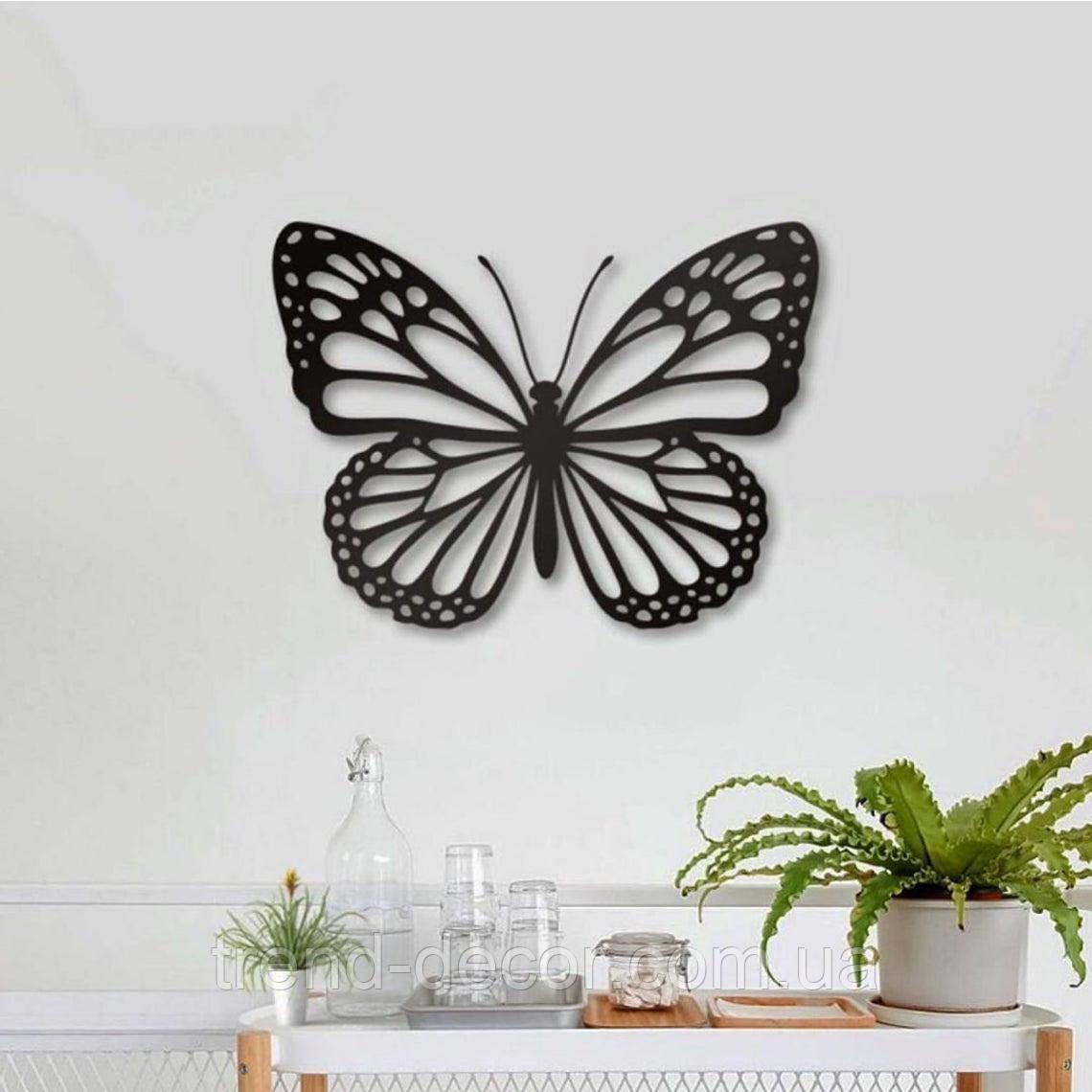 Декоративне металеве панно Метелик