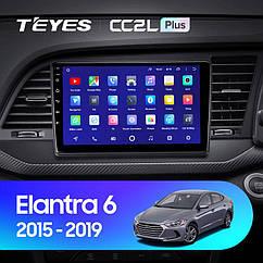 Штатная магнитола TEYES Hyundai Elantra 6 2015 - 2019