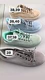 Бежевые  крутые кеды,кроссовки,криперы  женские, фото 4