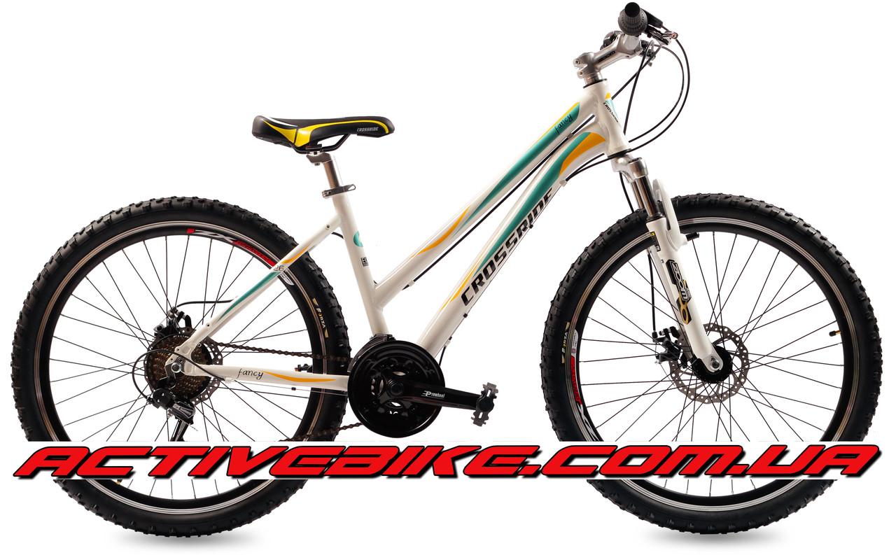 """Велосипед горный CROSSRIDE FANCY 26"""" AL."""
