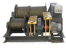 Лебедка электрическая маневровая ТЛ-8Б 315 т