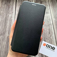 Чехол книга для Samsung J6 Plus J610 с эко кожи с подставкой книжка на телефон самсунг дж6 плюс черная STN