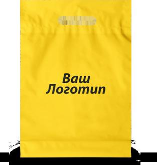 "Пакет ""банан"" 40х50 (білий), 40 мкм, 1+0"