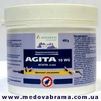 Агита 10 WG, 400г,  Новартис Энимал Хелс Словения– средство для уничтожения мух (400 г)