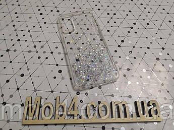 Силиконовый чехол накладка Звездная пыль для OPPO А72