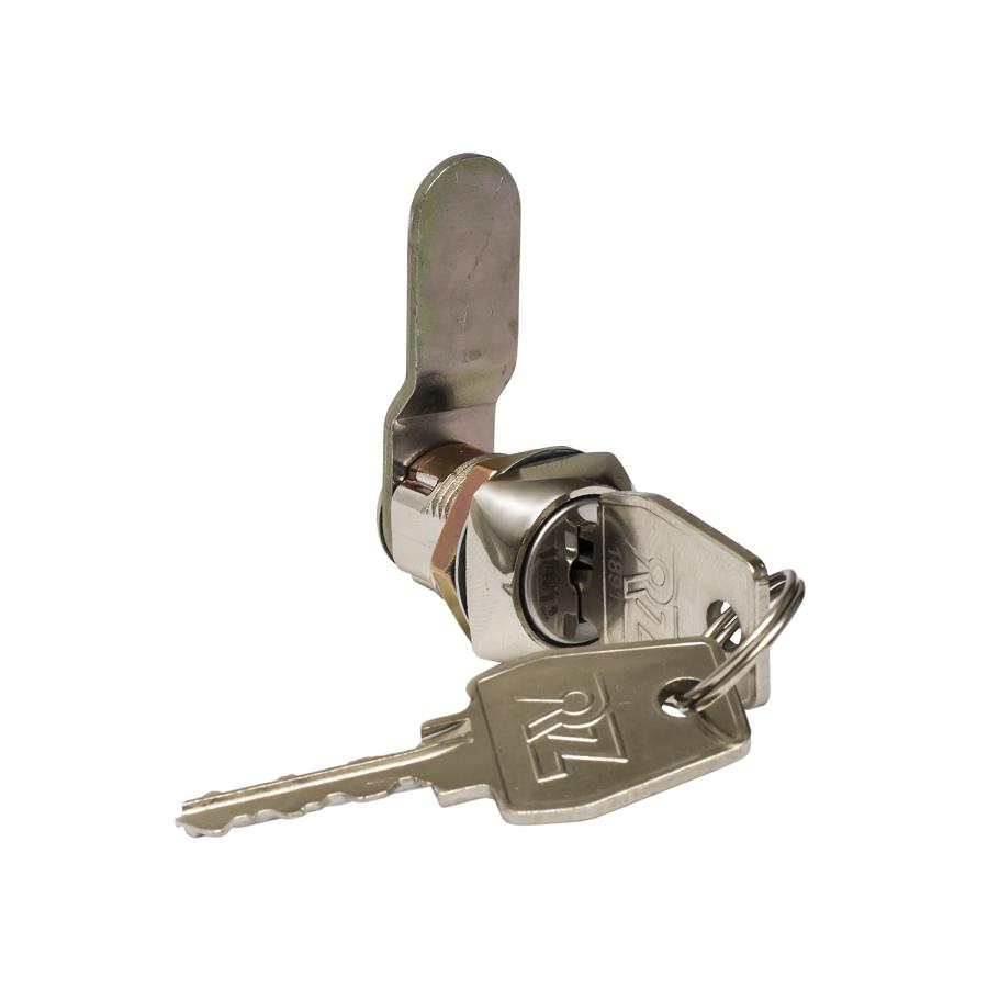 Замок для гардеробної шафи RZ L20 5K-4A, метал, секретність 2000, 5 ключів