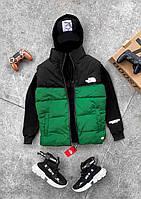 Мужская жилетка The North Face зеленая