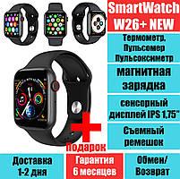 Смарт-часы с bluetooth звонкомSmartix W26+ Пульс, Давление, Температура, ЭКГ
