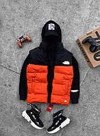 Мужская жилетка The North Face оранжевая