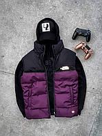 Мужская жилетка The North Face фиолетовая
