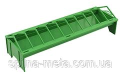 Кормушка для домашней птицы лоточная пластиковая, 50 х 16 см River Италия