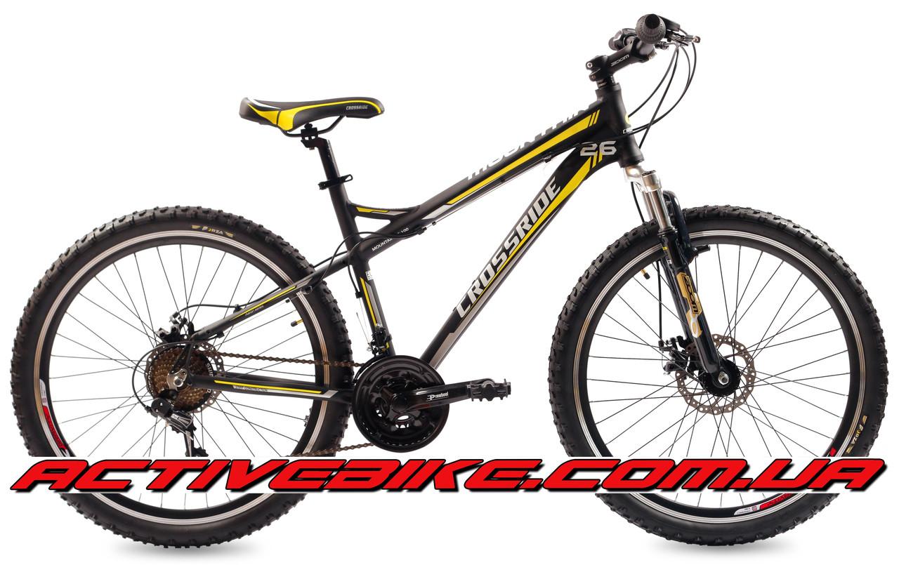 """Велосипед горный CROSSRIDE XC-100 2 26"""" AL."""