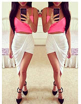 Стильна сексуальна спідниця оригінального дизайну, фото 2
