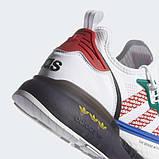 Чоловічі кросівки adidas ZX 2K Boost Whate Blue, фото 7