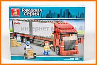 Конструктор Sluban Городская серия: B-Train Truck, 345 деталей арт. M38-B0338