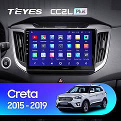 Штатная магнитола TEYES  Hyundai Creta IX25 2015 - 2019