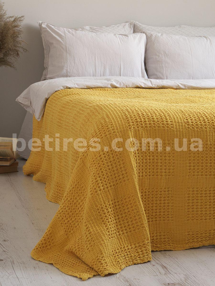 Покрывало 200x220 LIMASSO PIKE LIMONADE желтое