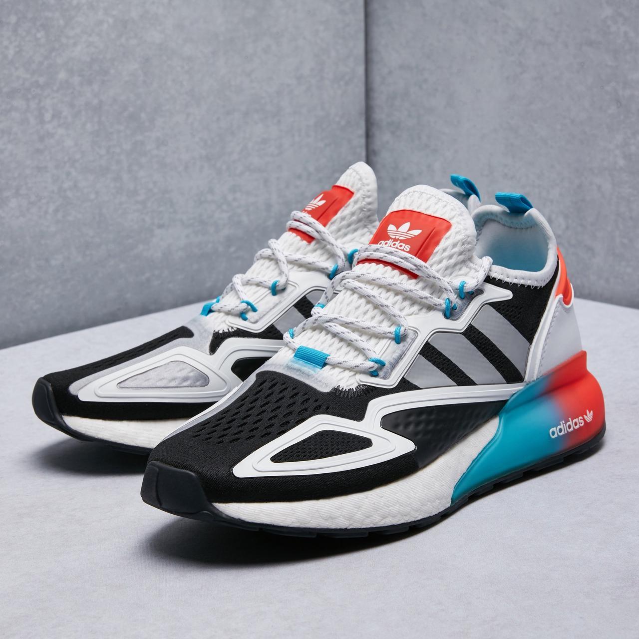 Чоловічі кросівки adidas ZX 2K Boost Blue whate