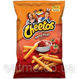 Cheetos Ketchup Кукурузные чипсы со вкусом кетчупа 165g