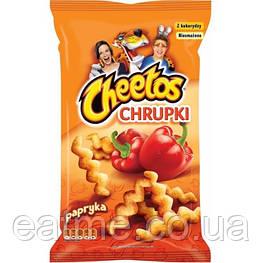 Cheetos Paprika Кукурузные чипсы со вкусом паприки 145g