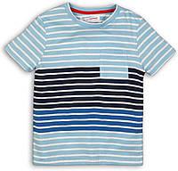 Оранжевая детская футболка для мальчика 4-7 лет, 104-122 см Minoti, 104-110 см
