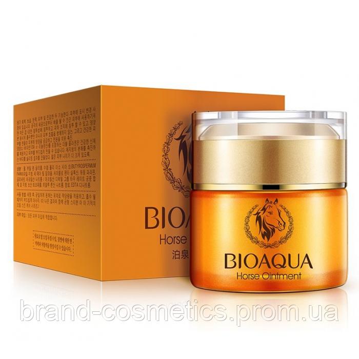 Крем для лица BIOAQUA Horse Ointment Cream с анти-возрастным эффектом на основе лошадиного масла 50 мл