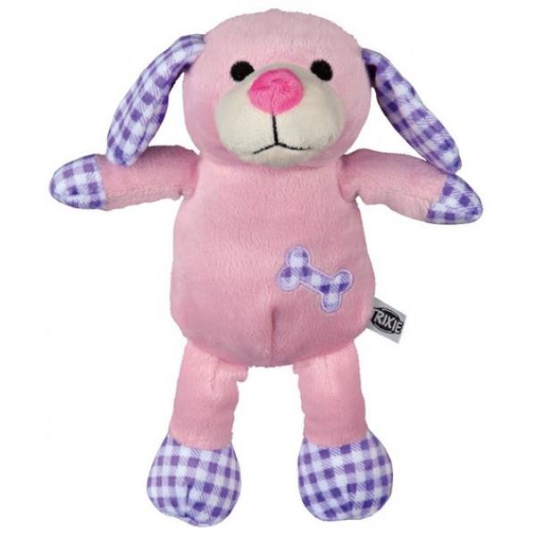 Игрушка Собака розовая  плюш Trixie (Трикси), 28 см